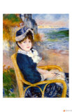 By the Sea Shore Reproduction procédé giclée par Pierre-Auguste Renoir