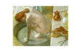 Le Tub Giclee Print by Edgar Degas