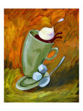 Dancing Coffee Giclee Print by Nobu Haihara