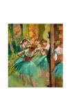 Dancers in Pink and Green Giclee Print by Edgar Degas