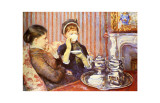 Five O'Clock Tea Giclee Print by Mary Cassatt