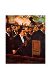 Orchestra at the Opera Giclee Print by Edgar Degas