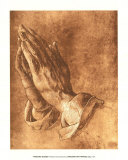 Praying Hands Plakater af Albrecht Dürer
