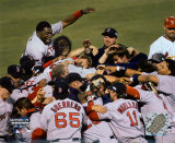 Red Sox: celebración de la victoria de la World Series contra St. Louis, 2004 ©Photofile Fotografía
