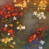 Gardens in the Mist IV Print by Aleah Koury