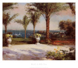 Vista de palmera Láminas por  Haibin