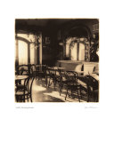 Caffe, Montepulciano Posters by Alan Blaustein