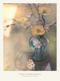 Poppies and Spring Blossoms Posters by Susan Friedman