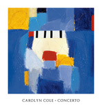 Concerto Posters by Carolyn Cole