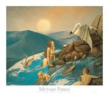 Libellule Affiches par Michael Parkes