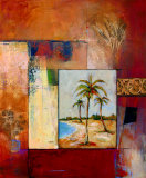 Palm Serenity I Wall Art by  Judeen