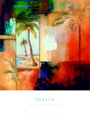 Palm View I Posters by  Judeen