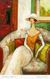 La Chaise Fleurie Prints by Ludmila Curilova