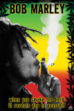 Bob Marley - Smoke the Herb Man! Prints