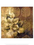 Leaf Patterns III Poster par Linda Thompson