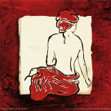 Red Fragrance II Posters by Mary Beth Zeitz