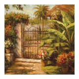 Entrance to the Guesthouse Prints by Paul Burkett