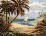 Palm Bay Print by Paul Brent