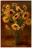 Mediterranean Sunflowers II Posters by Tricia May