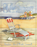 At the Seaside Print by Paul Brent