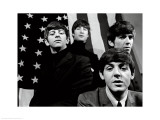 The Beatles, American Flag Print