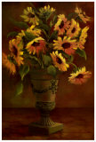 Mediterranean Sunflowers I Prints by Tricia May