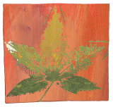 Autumn Leaves Art by M. Della Casa