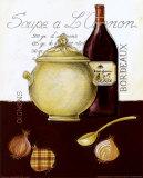 Soupe a l'Oignon Prints by Sophie Hanin