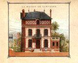 Maison de Campagne, Orne Affiches par Laurence David
