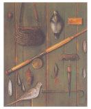 Fishing Posters by Eva Sienkel