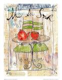 Thé du Soir Posters by Caroline Saxon