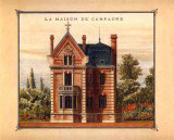 Maison de Campagne, Marne Prints by Laurence David