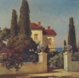 Tuscan Home I Art by V. Dolgov