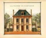 Maison de Campagne, Oise Affiches par Laurence David