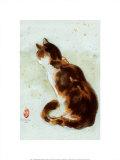 Dehong's Cat Posters by Hu Chen