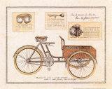 Triporteur de Livraison Poster by Philippe David
