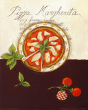 Pizza Margherita Posters by Sophie Hanin