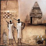 Tiempo de cosecha II Póster por Jan Eelse Noordhuis