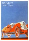 Cliche Renault I Prints