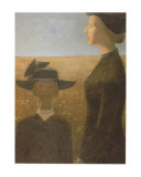 Mort Par un Clair Matin Konst av Jean Paul Lemieux