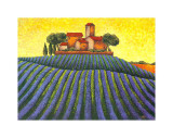 The Colours of Provence III Prints by M. Picard