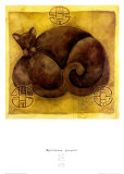 Meditation Prospere Print by Aline Gauthier