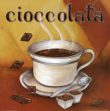 Cioccolata Prints by L. Morales