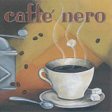 Caffe Nero Prints by L. Morales