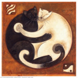 Yin Chi Yang Chats Prints by Aline Gauthier