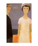 Le Couple Posters by Jean Paul Lemieux
