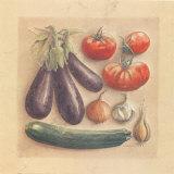 Vegetables III, Eggplants Posters par Laurence David