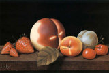 Nature morte aux Fraises Psters por Charles Joly