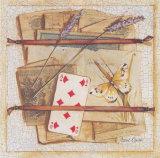 Trompe l'Oeil au 8 de Carreau Print by Joëlle Wolff