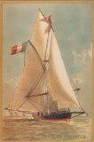 Yacht de Plaisance Print